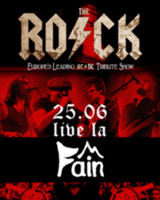 Live de la Fain: The Rock - Tribute ACDC pe 25 iunie