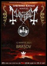 MAYHEM si MORTIIS canta in Brasov  pe 12 martie 2021
