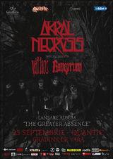 Lansare de album Akral Necrosis pe 25 septembrie in Quantic Club