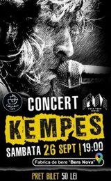 Concert Kempes pe 26 septembrie
