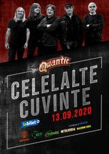 Concert Celelalte Cuvinte pe 13 septembrie in Club Quantic