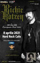 Concert Richie Kotzen: 50 for 50 pe 8 Aprilie 2021 la Hard Rock Cafe