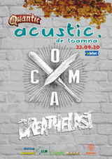 COMA si Breathelast  acustic de toamna in Club Quantic