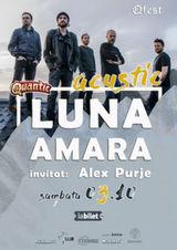 Concert Luna Amara acustic pe 3 octombrie