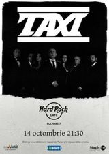 Concert Taxi pe 14 octombrie in Hard Rock Cafe