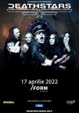 DEATHSTARS canta la /FORM Space pe 17 aprilie 2022
