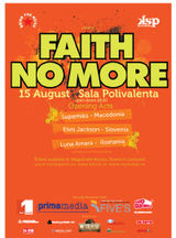 Concert Faith No More la Bucuresti