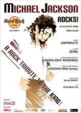 Concert tribut Michael Jackson in Hard Rock Cafe