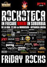 Rockoteca Friday Rocks in fiecare vineri in Suburbia