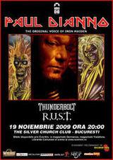 ANULAT - Concert Paul Di'Anno la Bucuresti