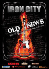 Old News canta in Iron City