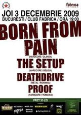 Born From Pain si The Setup concerteaza in Bucuresti!