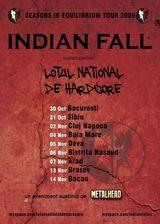 Concert Indian Fall, Grimegod si Lotul National de Hardcore in Brasov