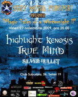 Highlight Kenosis si True Mind concerteaza astazi in Suburbia