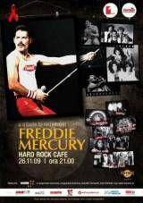 Remember Freddie Mercury in aceasta seara la Hard Rock Cafe