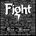 FIGHT-War of Words(cd original 1993)