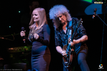 Poze Brian May  chitaristul trupei Queen  in premiera in Romania, alaturi de Kerry Ellis (User Foto)