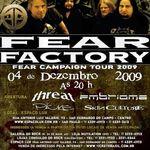 Fear Factory sustin primul concert dupa o pauza de peste patru ani