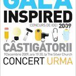 Silver Church prezinta Gala Inspired. Plus un concert Urma!