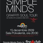 Vino sa petreci cu Simple Minds in Fire Club