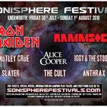 Iron Maiden si Rammstein canta la Sonisphere UK! Urmeaza Europa de Est?