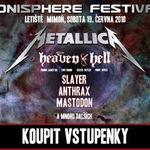 Sonisphere 2010 Cehia: Line-up asemanator cu Romania!