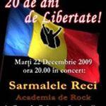 Concert Sarmalele Reci la Preoteasa pe 22 decemrie