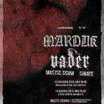 Programul concertelor Marduk si Vader in Romania