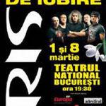 Concert Iris la Bucuresti de 1 si 8 Martie