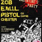 Concert Zob, E.M.I.L. si Pistol Cu Capse in Fabrica