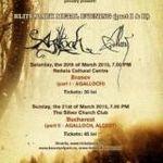 Concertele Agalloch din Romania atrag fani din peste 15 tari