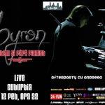 Byron in concert la Suburbia