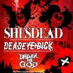 Shesdead, Deadeye Dick si Deliver The God in concert la Suburbia