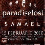 Comunicatul organizatorilor concertului Paradise Lost