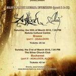 Doar 50 de bilete ramase pentru concertul Agalloch din Brasov