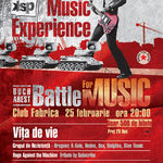 Vita de Vie pornesc primul eveniment Alternative Music Experience - Battle for Music