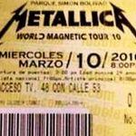 Masuri extreme pentru concertul Metallica din Columbia