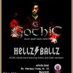 Concert Gothic si Hellz Ballz in Bucuresti