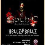 Concert Gothic si Hellz Ballz in Bucuresti