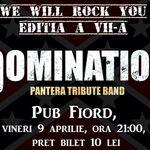 Concert Domination, trupa tribut Pantera, in Targoviste