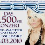 Doro Pesch a sustinut concertul cu numarul 2.500 din cariera