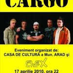 Concert Cargo in Club Flex din Arad