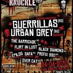 Concert Guerrillas, Urban Grey si multi altii la Knuckle Fest