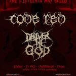 Concert Code Red si Deliver The God la Brasov