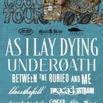 As I Lay Dying in turneu cu BTBAM si Underoath