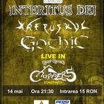 Concert Gothic, Interitus Dei si Krepuskul in club Choppers din Constanta