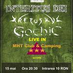 Concert Gothic, Interitus Dei si Krepsukul in Club MHT din Saturn