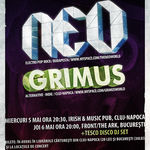Neo si Grimus sustin doua concerte la Cluj-Napoca si Bucuresti