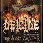 Spot video pentru concertul Deicide la Bucuresti in Studio Martin