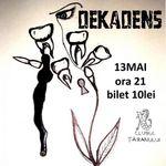 Concert Dekadens si vavudaBOB in Clubul Taranului din Bucuresti
